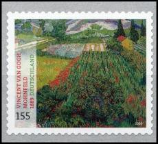 FRG MiNo. 3519 ** Vincent van Gogh - Poppy Field, self-adhesive, MNH