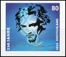 FRG MiNo. 3520 ** 250th birthday of Ludwig van Beethoven, self-adhesive, MNH