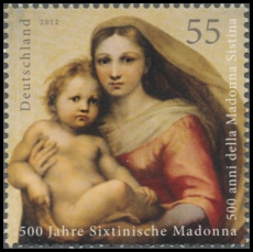 FRG MiNo. 2919 ** (from block 79 **) 500 years Sistine Madonna, MNH