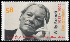 FRG MiNo. 3037 ** 100th anniversary of Willy Brandt, MNH