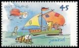 FRG MiNo. 2992-2993 set ** Janosch drawings, MNH
