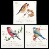 FRG MiNo. 3023-3025 set ** Youth 2013: Native songbirds, MNH
