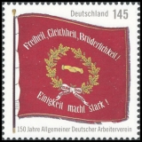 FRG MiNo. 2997 ** 150 years German Workers Association, MNH