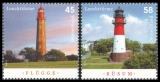 FRG MiNo. 3010-3011 set ** Lighthouses (XV), MNH
