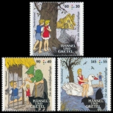 FRG MiNo. 3056-3058 set ** Welfare 2014: Grimms Fairy Tales - Hansel and Gretel