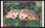 FRG MiNo. 3047-3048 set ** Animal Babies: fox and hedgehog, MNH