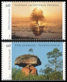 FRG MiNo. 3059-3060 set ** wild Germany, MNH