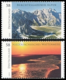 FRG MiNo. 3017-3018 set ** Wild Germany, MNH