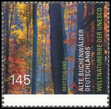 FRG MiNo. 3052 ** UNESCO World Heritage: Ancient Beech Forests of Germany, MNH