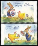 FRG MiNo. 3063-3064 set ** Gaymann drawings, MNH