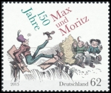 FRG MiNo. 3146 ** 150 years Max and Moritz, MNH