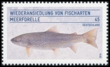 FRG MiNo. 3120 ** Reintroduction of the species of fish: sea trout, MNH