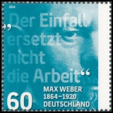 FRG MiNo. 3071 ** 150th birthday of Max Weber, MNH