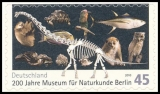 FRG MiNo. 2780 ** Museum of natural history, MNH, self-adhesive
