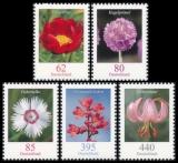 FRG MiNo. 3114-3118 set ** Time series Flowers, MNH