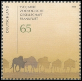 FRG MiNo. 2653 ** 150 years Frankfurt Zoological Society, MNH