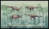 FRG MiNo. Block 73 (2687-2690) ** Youth 2008: Dinosaur, sheetlet, MNH