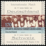FRG MiNo. 2659 ** 100 years German international football matches, MNH