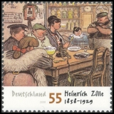 FRG MiNo. 2640 ** 150th birthday of Heinrich Zille, MNH