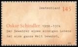 FRG MiNo. 2660 ** 100th anniversary of Oskar Schindler, MNH