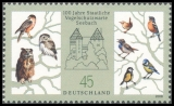 FRG MiNo. 2661 ** 100 years State Ornithological Station Seebach, MNH
