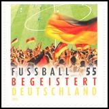 FRG MiNo. 2936 ** German Football Enthusiasm, MNH, self-adhesive
