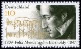 FRG MiNo. 1953 ** 150th anniversary death of Felix Mendelssohn Bartholdy, MNH