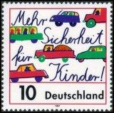 FRG MiNo. 1954 ** More safety for children in road traffic, MNH