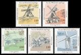 FRG MiNo. 1948-1952 set ** welfare 1997: water- and windmills, MNH