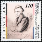 FRG MiNo. 1962 ** 200th birthday Heinrich Heine, MNH