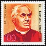 FRG MiNo. 1925 ** 100th anniversary of Sebastian Kneipps death, MNH