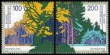 FRG MiNo. 1918-1919 set ** 50 y. Protection German Forests, from block 38, MNH
