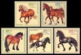 FRG MiNo. 1920-1924 set ** youth 1997: horse breeds, MNH