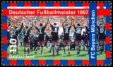 FRG MiNo. 1958 ** German soccer champion 1997: FC Bayern Munich, MNH