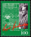 FRG MiNo. 1896 ** 100th birthday of Sepp Herberger, MNH