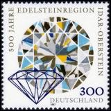 FRG MiNo. 1911 ** 500 years gemstone region Idar-Oberstein, MNH
