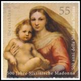 FRG MiNo. 2965 ** La Madonna di San Sisto, MNH, self-adhesive