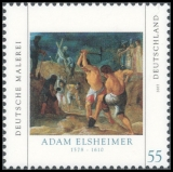FRG MiNo. 2591 ** German painting: Adam Eisheimer, MNH