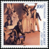 FRG MiNo. 1895 ** 200th birthday of Franz Schubert, MNH