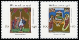 FRG MiNo. 1891-1892 set ** Christmas 1996, MNH