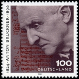FRG MiNo. 1888 ** 100th anniversary of the death of Anton Bruckner, MNH