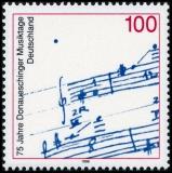 FRG MiNo. 1890 ** 75 years Donaueschinger Musiktage, MNH