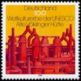 FRG MiNo. 1875 ** Cultural and natural heritage (II): Alte Völklinger Hütte, MNH