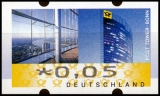 FRG MiNr. ATM 7, Cent value selection ** Frama label: Post Tower, MNH