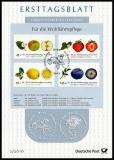 FRG MiNo. 2769-2772 set FDS 2/2010 o Welfare 2010: fruits