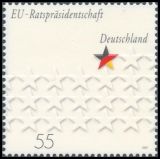 FRG MiNo. 2583 ** EU council presidency of Germany, MNH