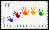 FRG MiNo. 1869 ** 50th anniversary of the UNICEF Childrens Fund, MNH