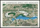 FRG MiNo. Block 7 (723-726) ** Summer Olympic Games Munich (V), sheetlet, MNH