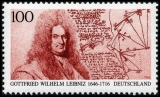 FRG MiNo. 1865 ** 350th birthday of Gottfried Wilhelm Leibniz, MNH