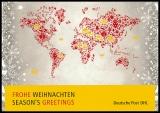 FRG MiNo. 3040 o 4 x Christmas 2013, first day cancel, card Merry Christmas
